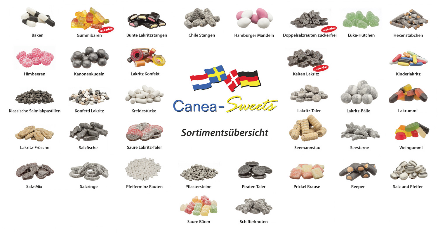Canea Sweets Sortiment